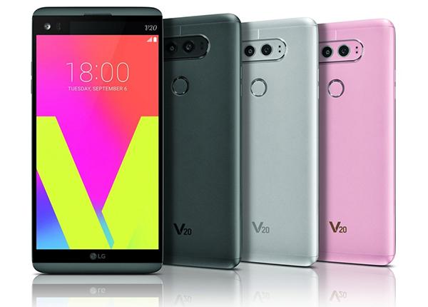 LG V20 se caracteriza porque tiene doble pantalla y cámara con lente dual. (Foto: LG)