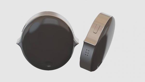 Senstone es un wearable que te permite guardar recordatorios mediante la voz. (Foto: Senstone)