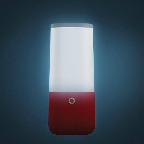 Este altavoz de colores también realiza tareas de iluminación. (Foto Microsoft Azure)
