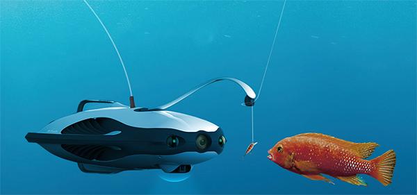 Descubre las profundidades marinas con este dron acuático. (Foto: PowerVision)