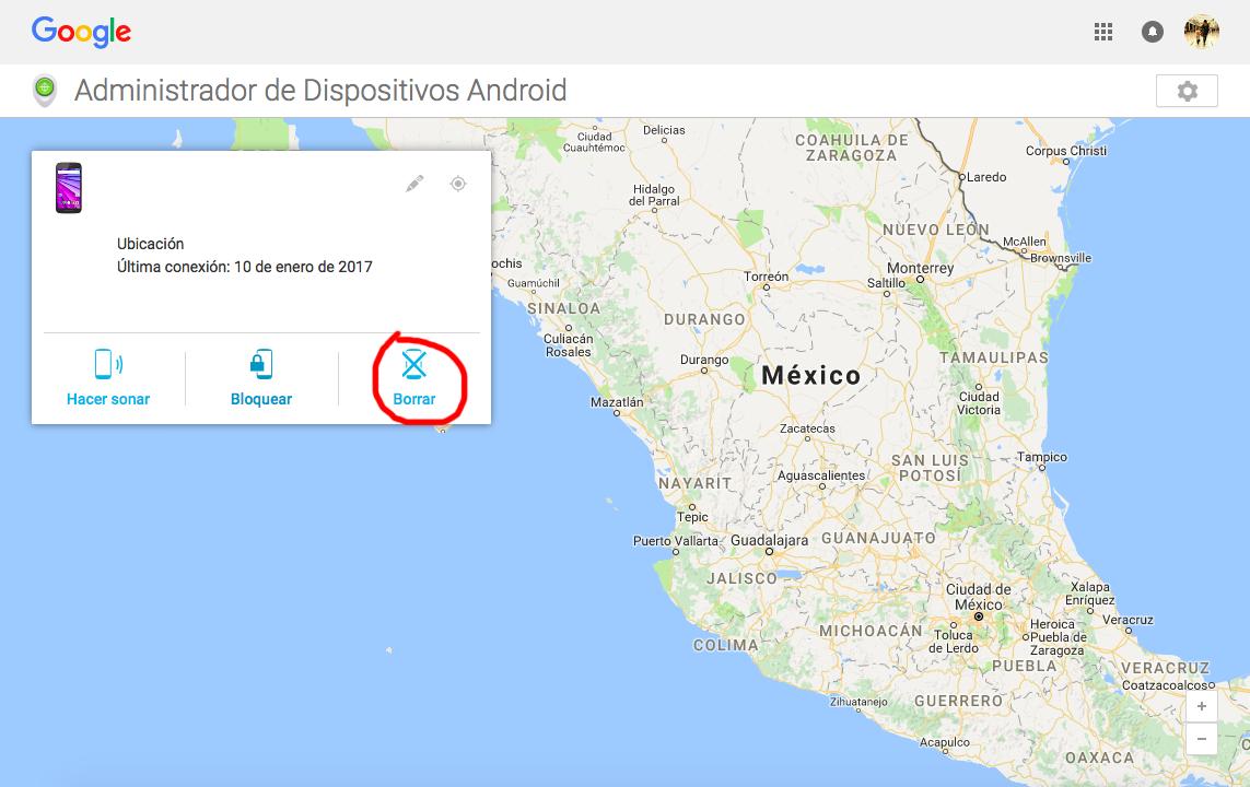 Localizar smartphone