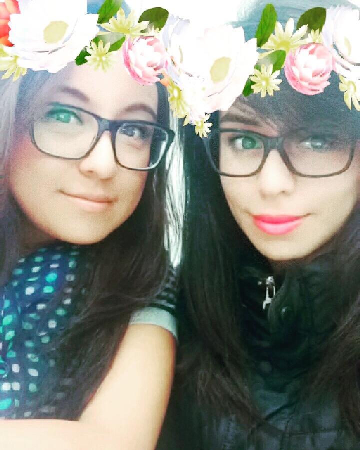 lense corona de flores