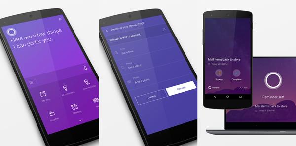 El asistente de Microsoft quiere salir del celular para ser parte del Internet de las cosas. (Foto: Google Play)
