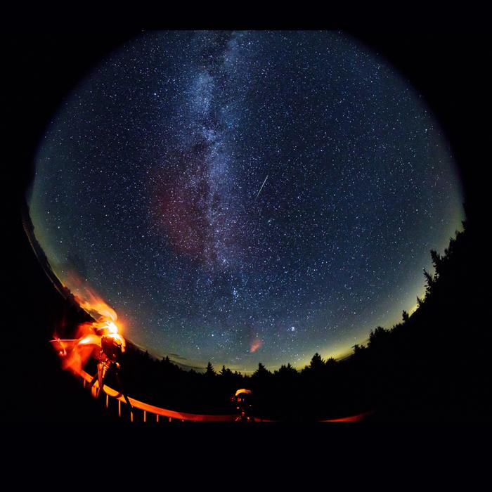 selfies espaciales