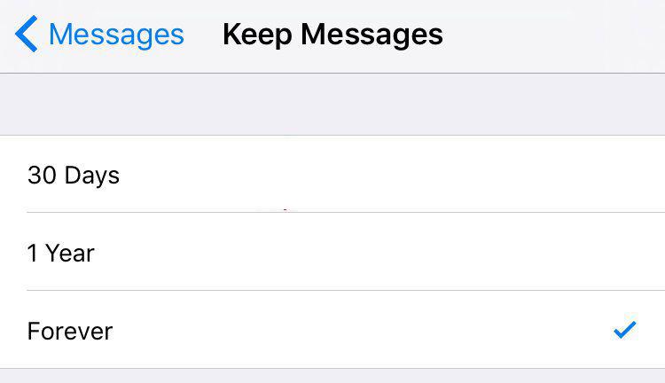 mensajes iPhone