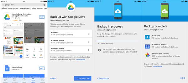 Las apps no se pueden respaldar, éstas tendrás que descargarlas nuevamente. (Foto: Google)