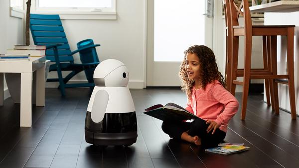 Este robot puede entretener a los niños al leerles cuentos y jugar con ellos. (Foto: Mayfield Robotics)