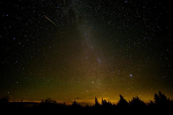 Lluvia de estrellas Perseidas. (Foto: NASA)