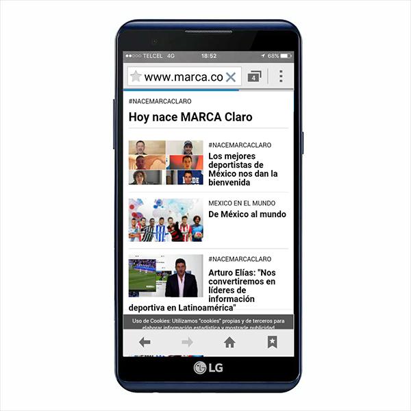 El sitio marcaclaro.com está disponible para ti desde el 9 de enero. (Foto: Marca Claro)