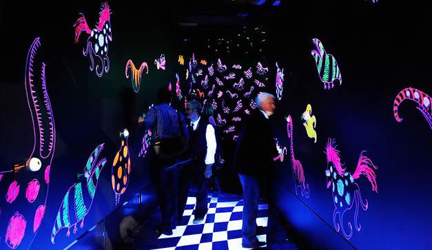 La exposición también contará con coloridos y luminosos dibujos. (Foto: Getty Images)