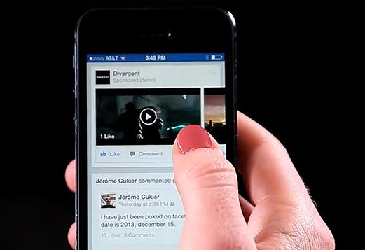 videos Publicidad Facebook