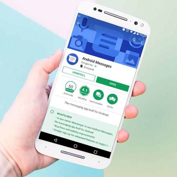 Android Messages incorpora la tecnología RCS, la nueva generación del SMS. (Foto: Mashable)