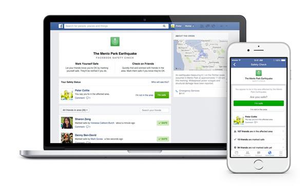 La red social creará grupos que reunirán a las personas que se vean afectadas. (Foto: Facebook)