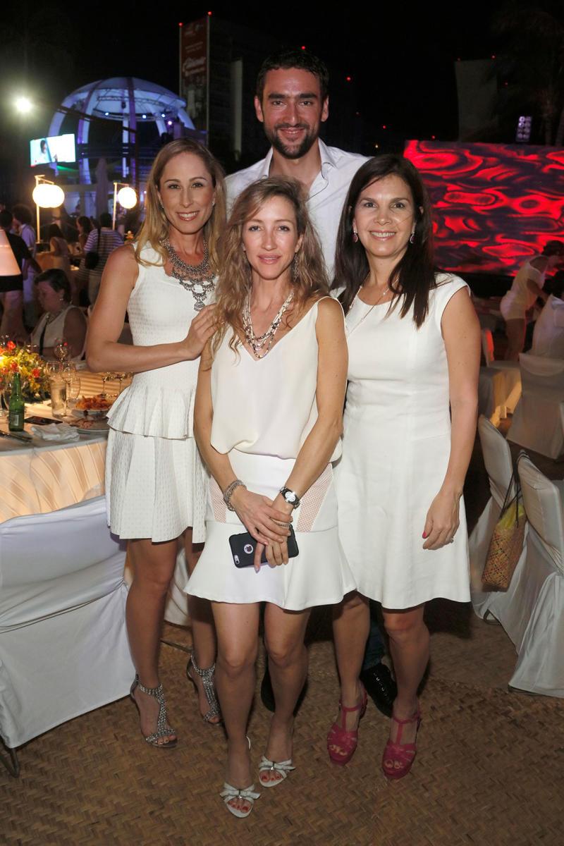 Marin Cilic, Jeannine Zambrano, Liliana González y Alma Vargas