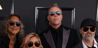 Metallica Grammy's 2017