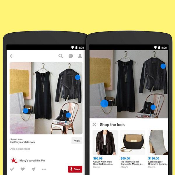 Con Shop the look podrás comprar los artículos que veas en tus pines favoritos de Pinterest. (Foto: Pinterest)
