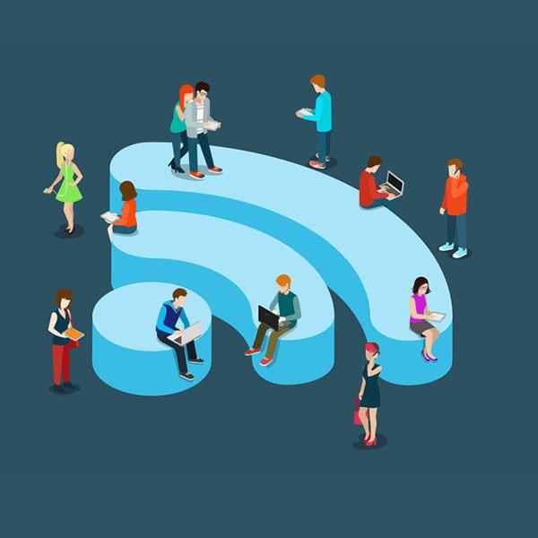 El Internet de las cosas funciona gracias a tecnologías subyacentes como el Wi-Fi. (Foto: Vecteezy)