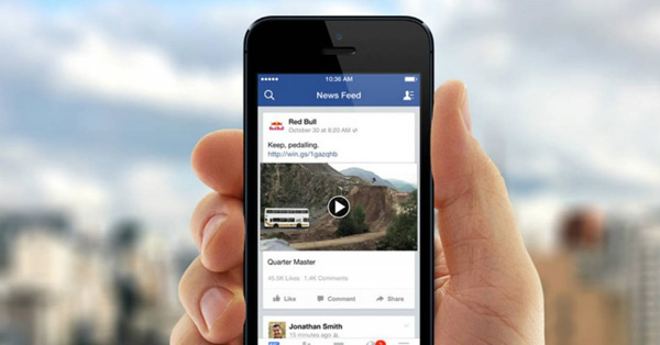 Si tu teléfono está en modo silencioso, los videos se reproducen sin sonido. (Foto: Facebook)