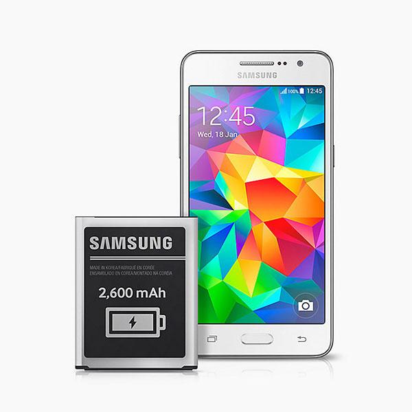 Una poderosa batería para que nunca te quedes a la mitad de tu playlist favorita. (Foto: Samsung)