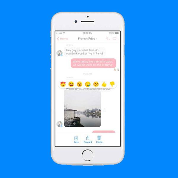 Lo que tanto habías esperado. Reacciona en emojis a los mensajes de tus amigos en Facebook Messenger. (Foto: Facebook)
