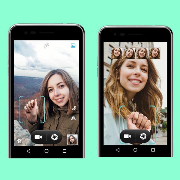 El LG K4 te permite capturar las mejores selfies únicamente con gestos. No más fotos borrosas. (Foto: LG)