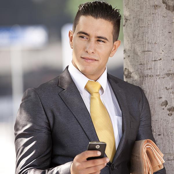 hombre oficinista