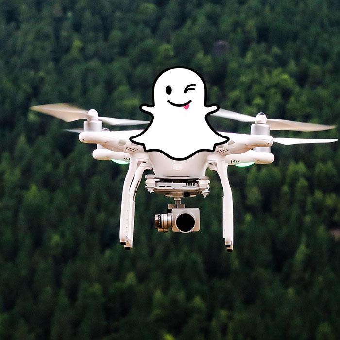 dron snapchat