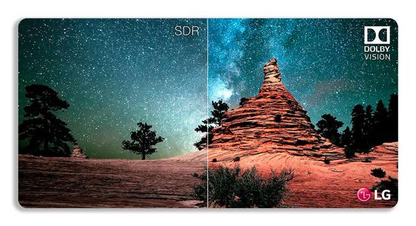 Dolby Vision permite disfrutar de imágenes más cercanas a la realidad. (Foto: LG)