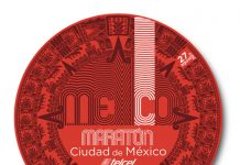 logo maratón CDMX 2017