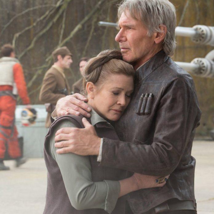 General Organa y Han Solo
