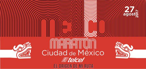 logo Maratón CDMX Telcel