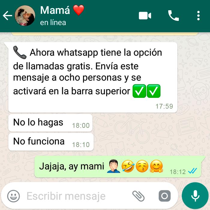 Conversaciones Más Chistosas Con Mamá En Whatsapp