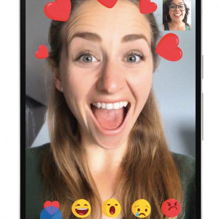 Facebook Messenger filtros