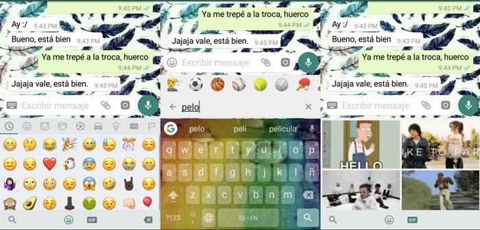 buscar emojis WhatsApp