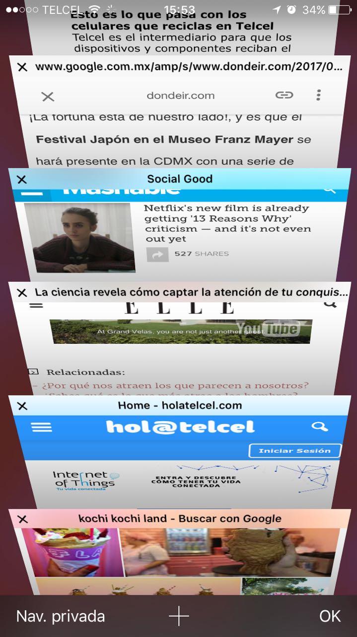 Safari iPhone