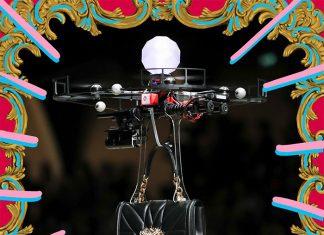 ¡Las bolsas de Dolce & Gabbana flotaron sobre la pasarela!