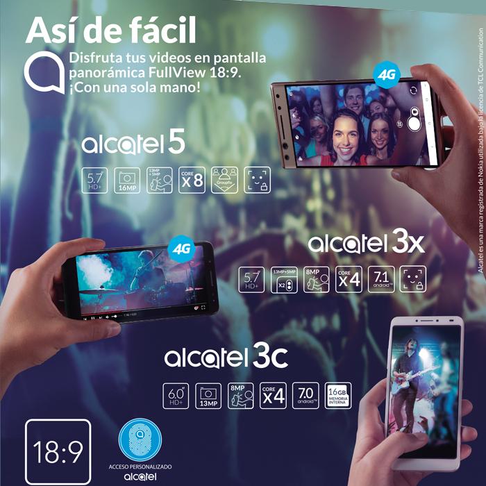 4948814185c Bienvenidos a la familia Alcatel. (Foto  Cortesía)