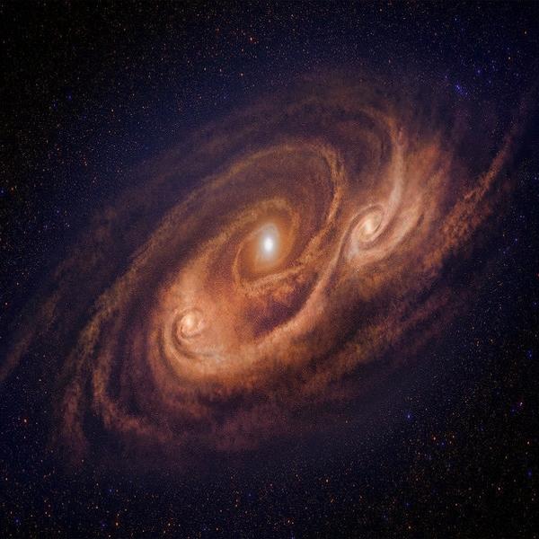 AzTEC-1 crea estrellas en fragmentos de segundos