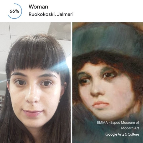 Google Arts & Culture te dice a qué obra de arte te pareces