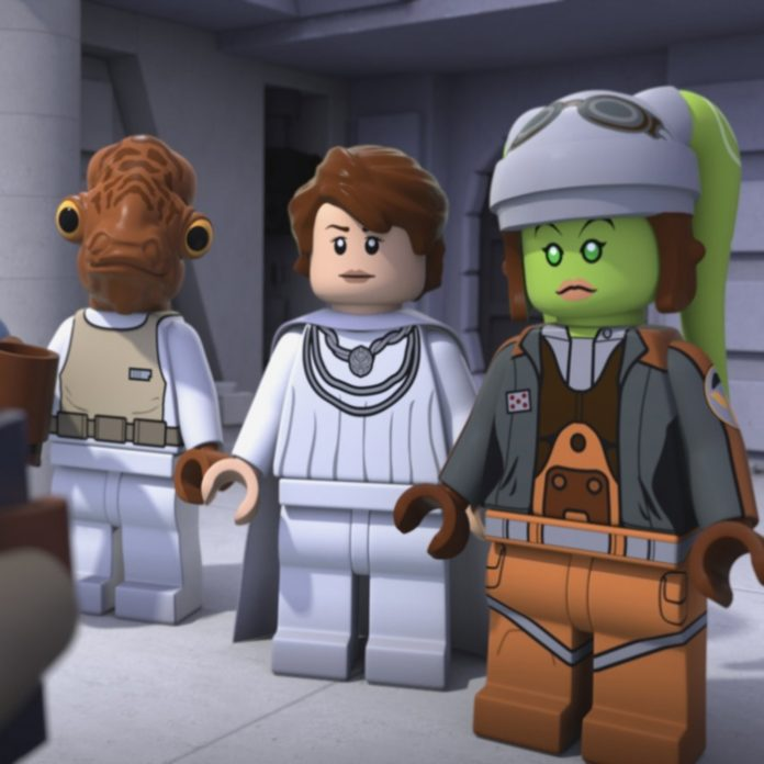 La caricatura LEGO Star Wars está disponible en Claro Video