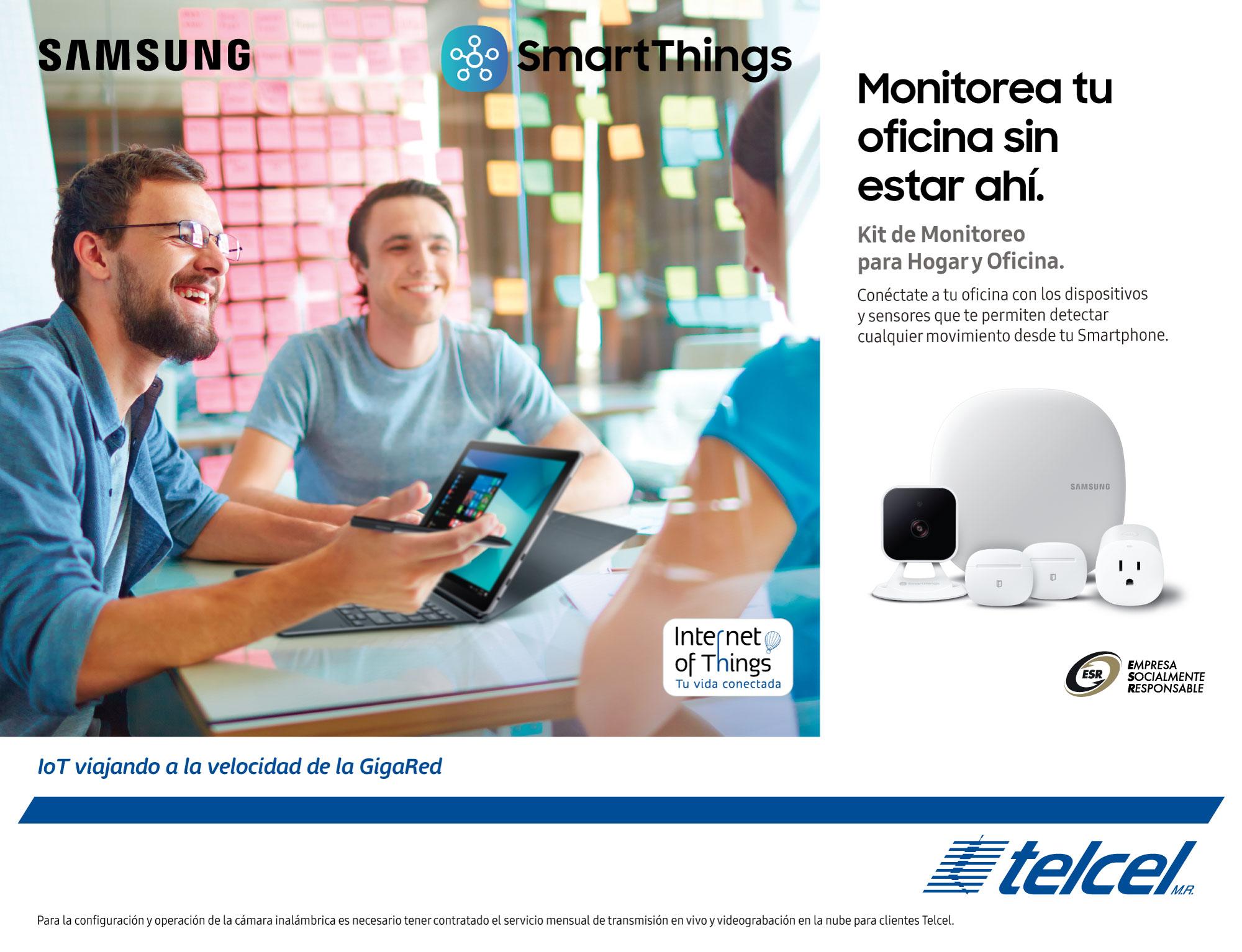 smartThings de Samsung
