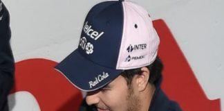 Checo Pérez extiende su contrato en Racing Point Force India 2019