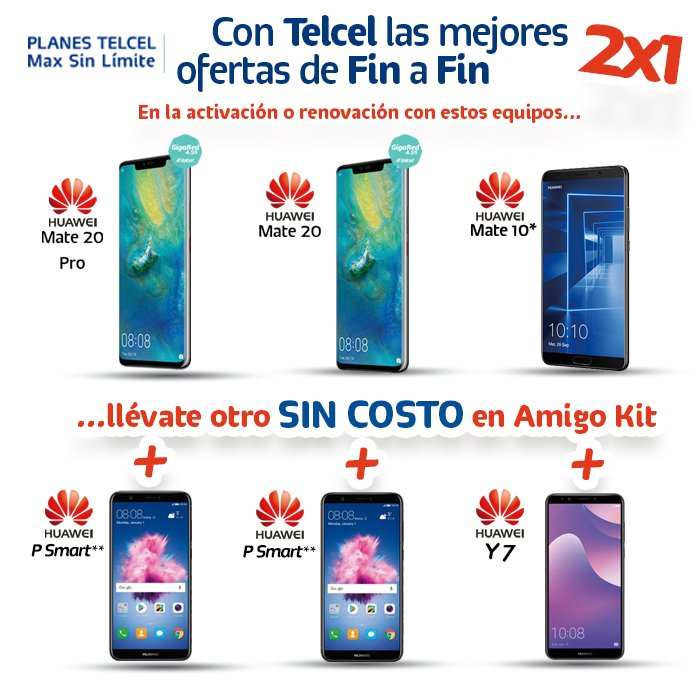 03fb191af6e Llévate dos smartphones con las increíbles promociones de 2x1 que ...