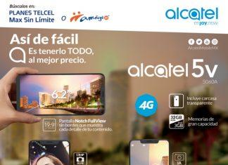 Alcatel 5V próximamente en Tienda en línea Telcel