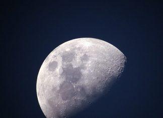 la primera imagen del lado oculto de la luna