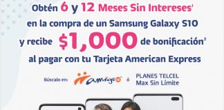 Promoción Samsung Telcel