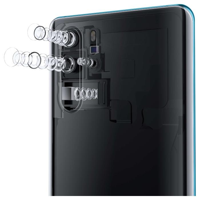 Huawei P30 Pro vs. Galaxy S10+.