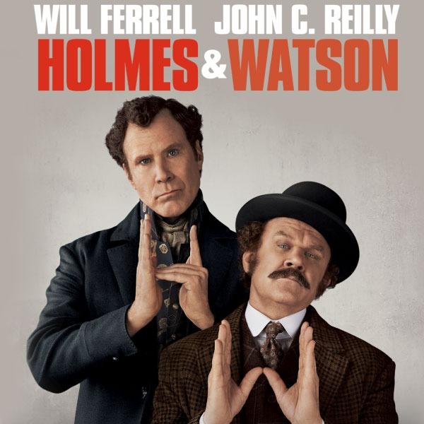 Holmes y Watson en claro video