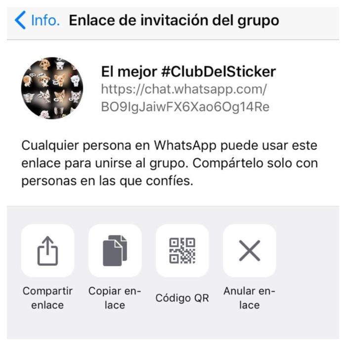 Club del Sticker de Whatsapp para compartir stickers
