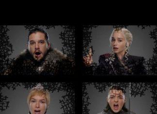 personajes de game of Thrones